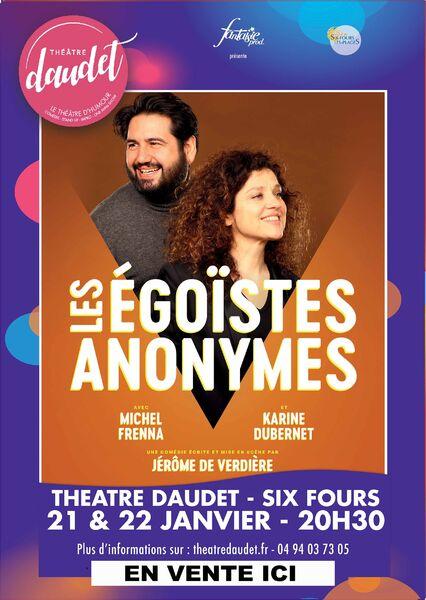Comédie «Les Egoïstes Anonymes» à Six-Fours-les-Plages - 0