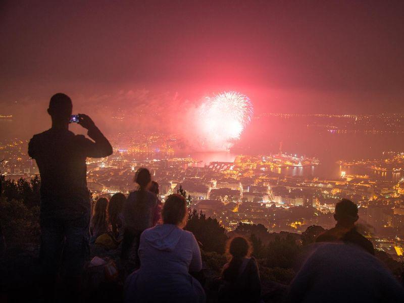 Sortie nocturne spéciale feu d'artifice du 14 juillet à Toulon - 0
