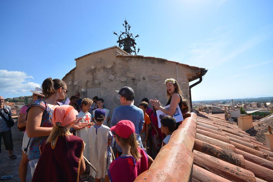 A la recherche du Trésor des Templiers (visite guidée spécial enfants) à Hyères - 7