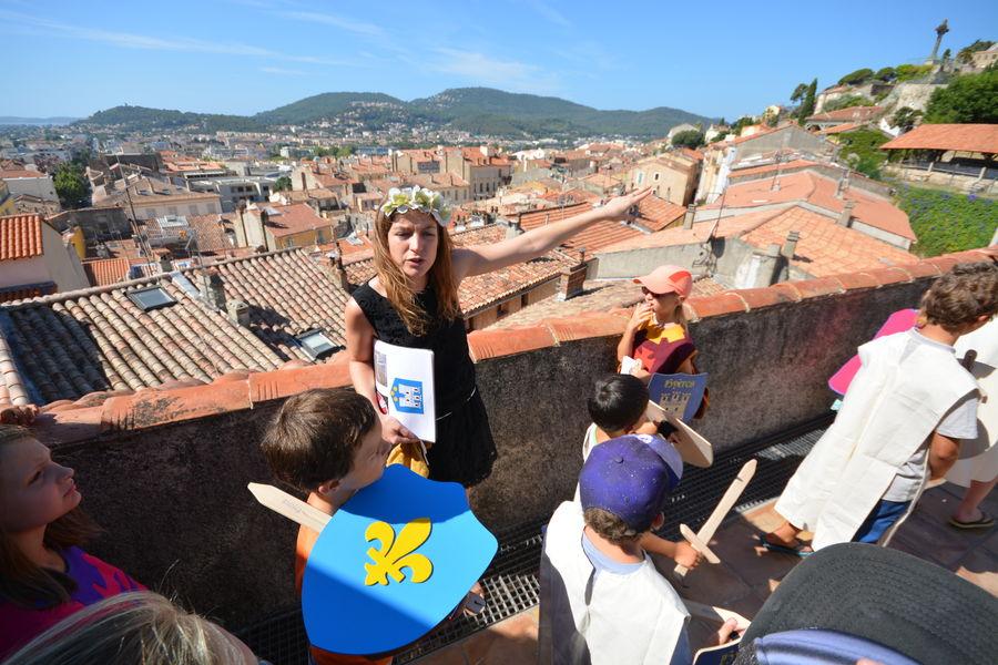 A la recherche du Trésor des Templiers (visite guidée spécial enfants) à Hyères - 6
