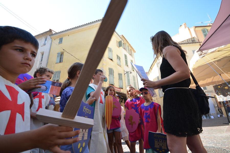 A la recherche du Trésor des Templiers (visite guidée spécial enfants) à Hyères - 2
