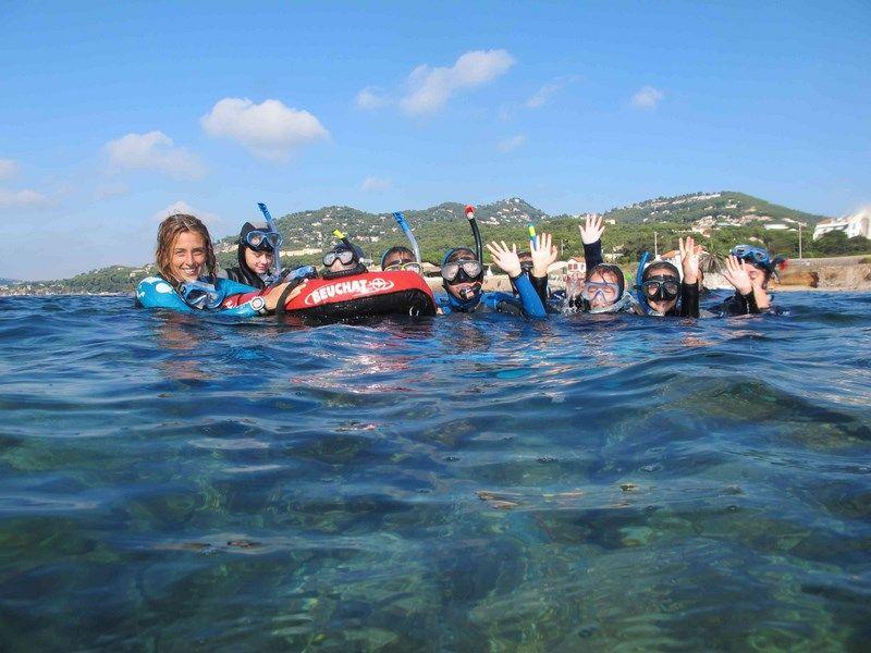 Sentier marin archéologique d'Olbia, balade aquatique accompagnée à Hyères - 2