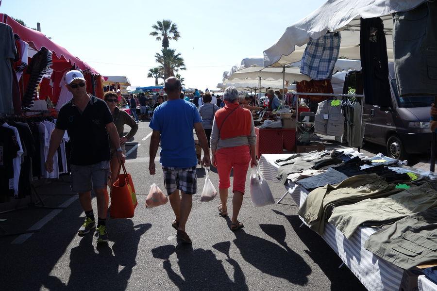 Le marché de l'Ayguade à Hyères - 2