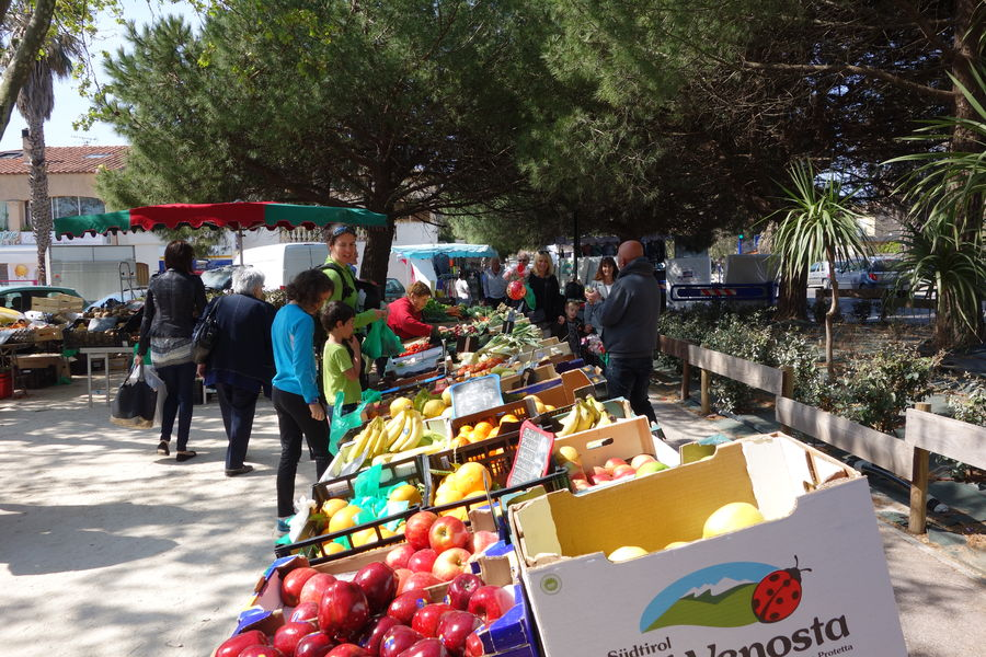 Le marché de l'Ayguade à Hyères - 9