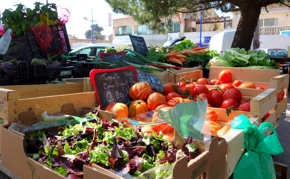 Le marché de l'Ayguade à Hyères - 10