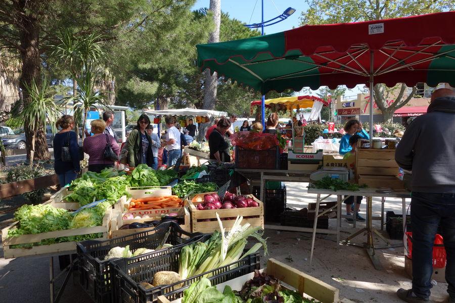 Le marché de l'Ayguade à Hyères - 12