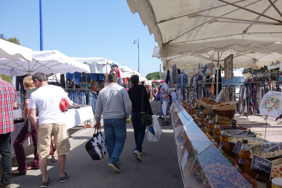 Le marché de l'Ayguade à Hyères - 15