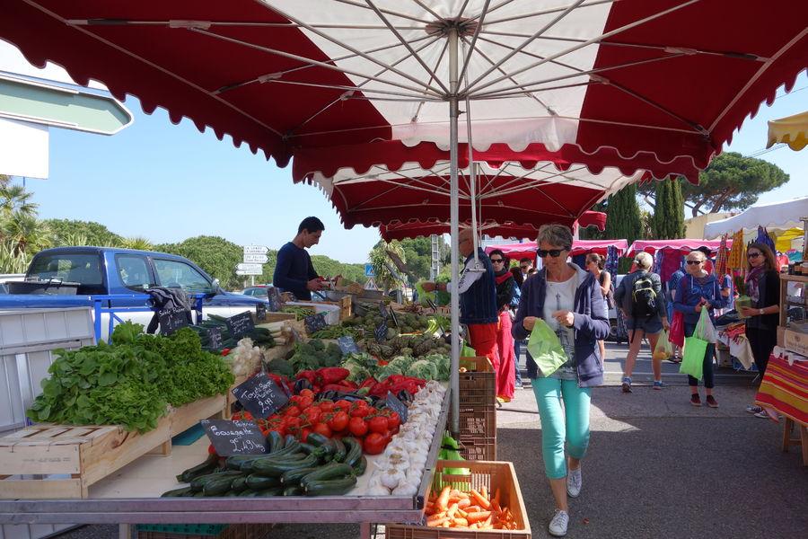 Le marché de l'Ayguade à Hyères - 17