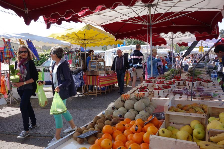 Le marché de l'Ayguade à Hyères - 19