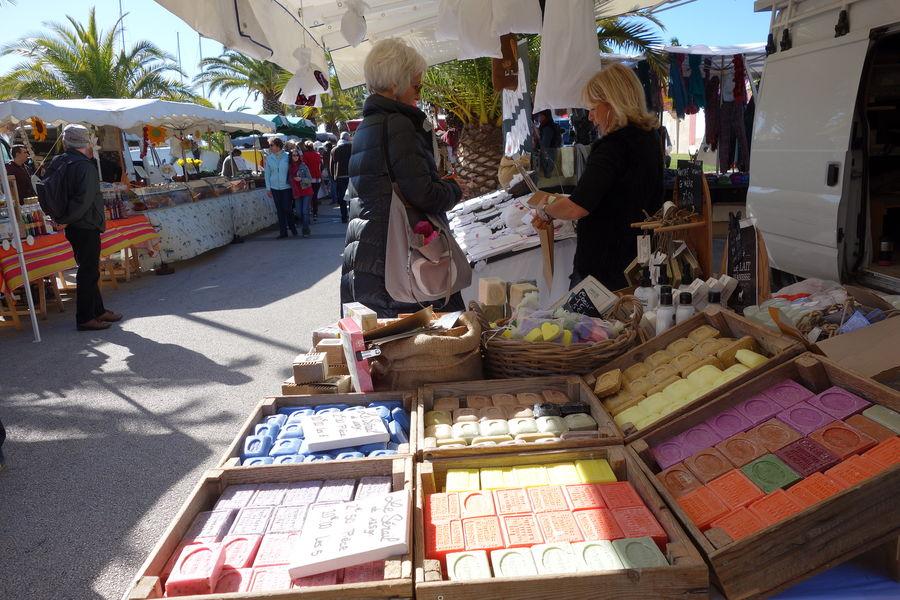Le marché du port à Hyères - 3