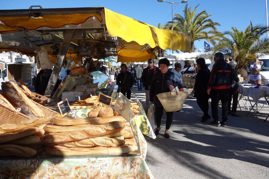 Le marché du port à Hyères - 4