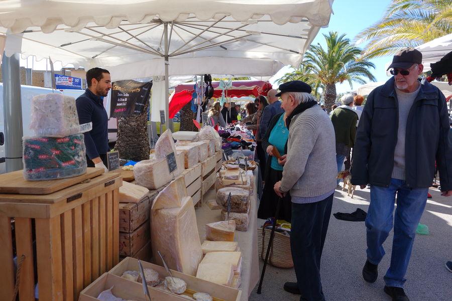 Le marché du port à Hyères - 5