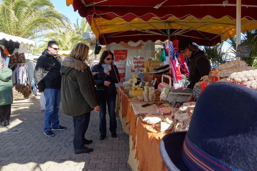 Le marché du port à Hyères - 10