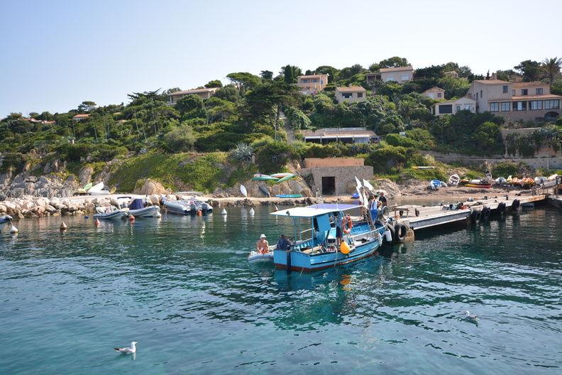 Le Port de l'Ayguade – île du Levant à Hyères - 2