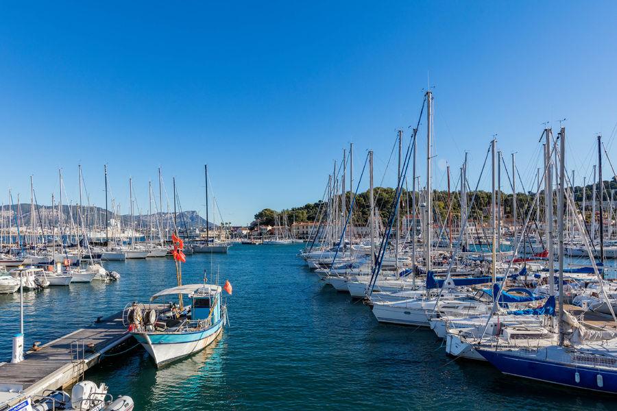 Port de plaisance à Saint-Mandrier-sur-Mer - 0
