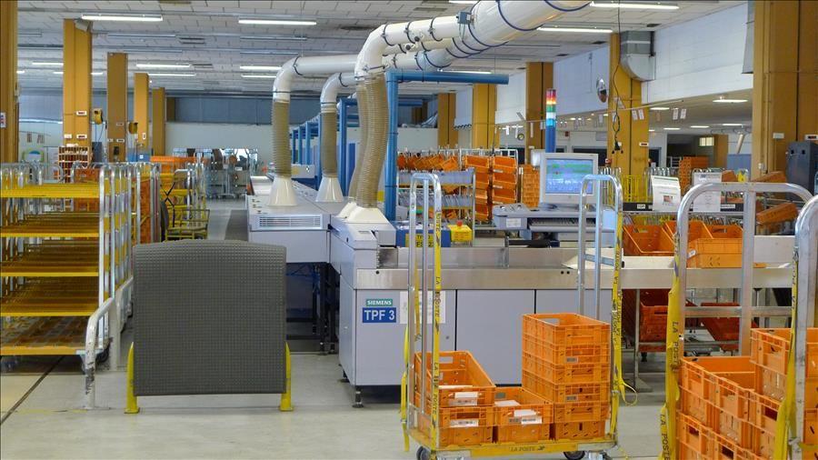Visite guidée de la plateforme industrielle courrier de Toulon La Valette à La Valette-du-Var - 0