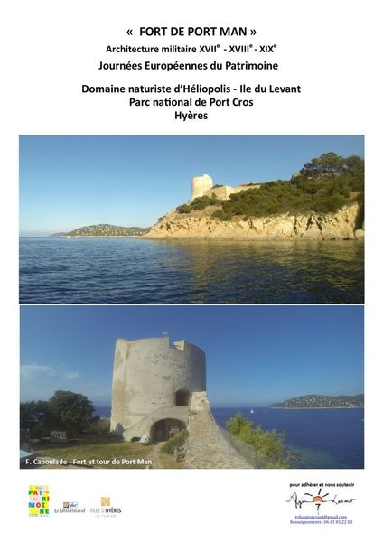 Journées Européennes du Patrimoine – Ile du Levant à Hyères - 2