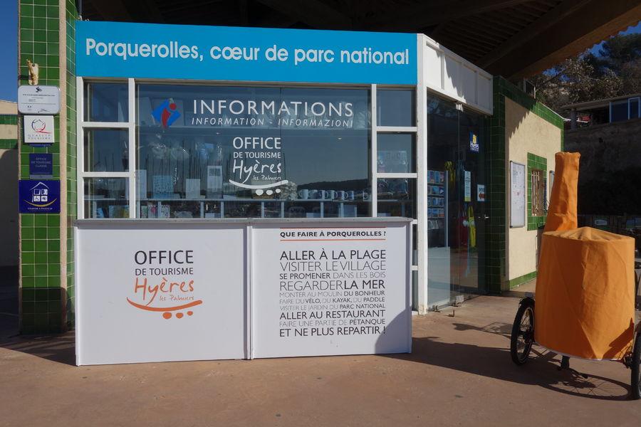 Bureau d'Informations de Porquerolles à Hyères - 2