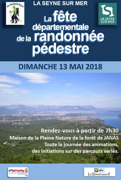 Fête départementale de la randonnée pédestre à La Seyne-sur-Mer - 0