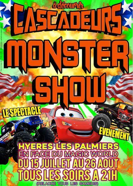 Les Cascadeurs Monster Show à Hyères - 3