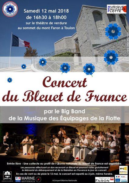 Concert du Bleuet de France à Toulon - 0