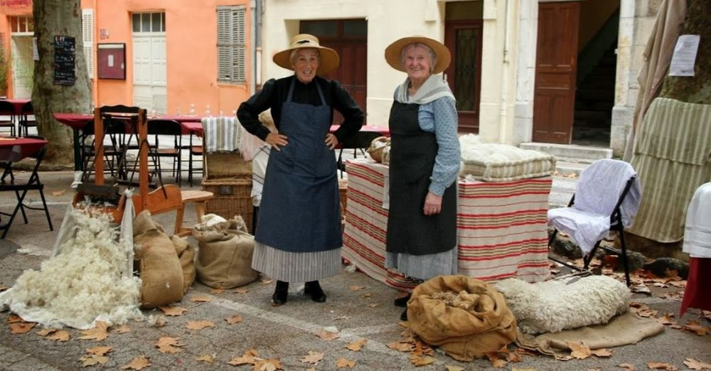 Démonstration de vieux métiers Giens 1900 à Hyères - 2