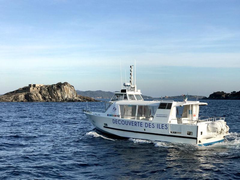 Circuit en bateau autour des îles : larguez les amarres ! à Hyères - 0