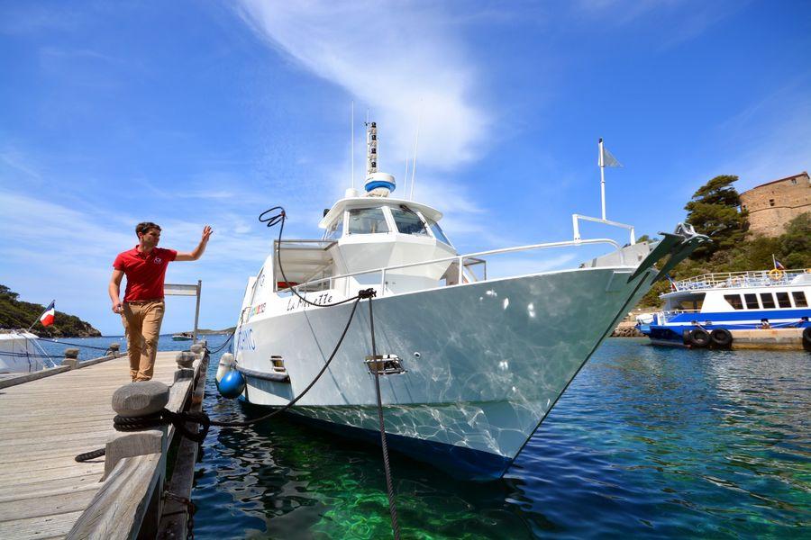 Circuit en bateau autour des îles : larguez les amarres ! à Hyères - 1