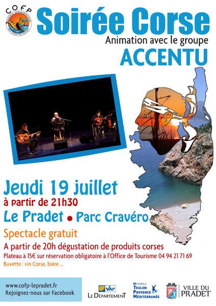 Soirée Corse à Le Pradet - 0