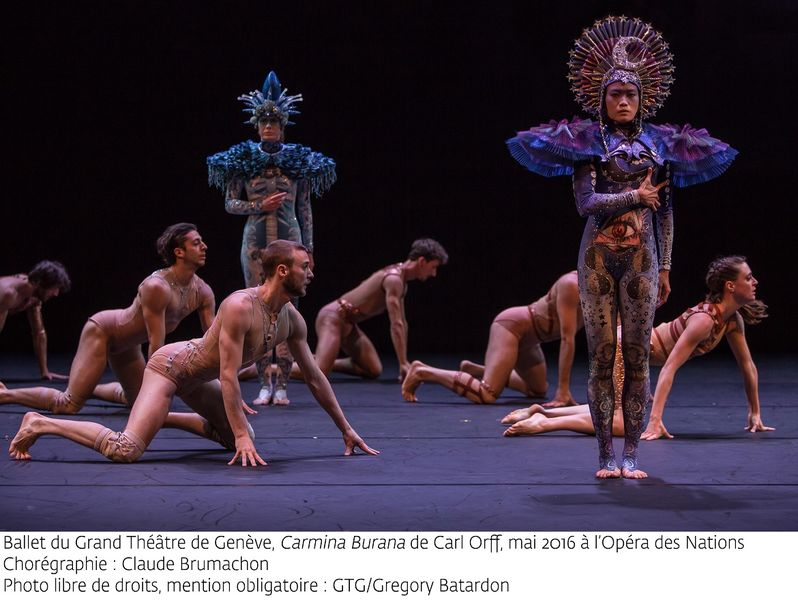 «Carmina Burana» par le Ballet du Grand Théâtre de Genève à Ollioules - 0