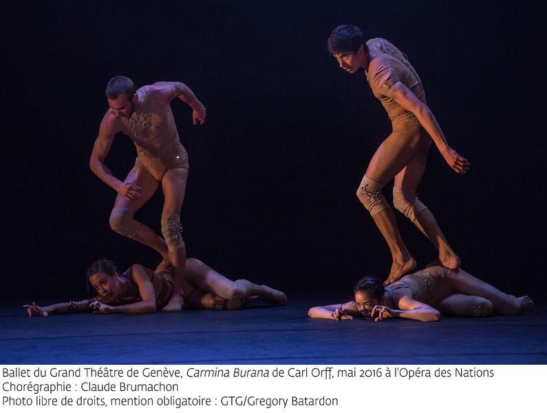 «Carmina Burana» par le Ballet du Grand Théâtre de Genève à Ollioules - 1