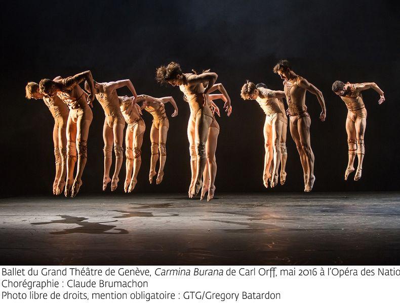 «Carmina Burana» par le Ballet du Grand Théâtre de Genève à Ollioules - 2