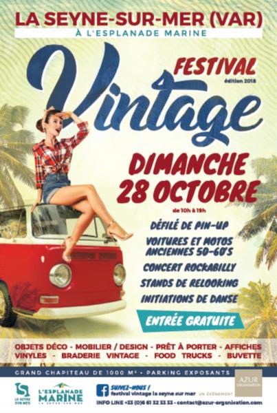 Festival Vintage (ANNULE) à La Seyne-sur-Mer - 1
