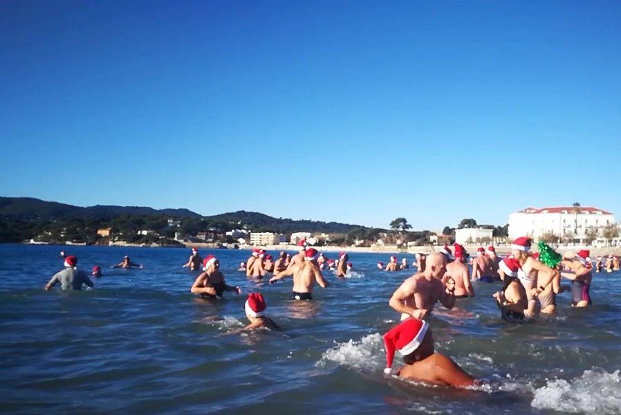 Bain de Noël des Sablettes à La Seyne-sur-Mer - 0