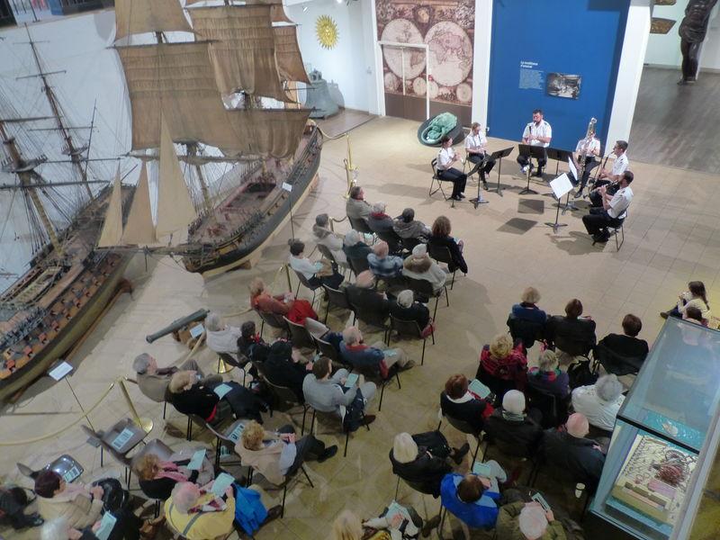 Concert – Musique des Équipages de la Flotte (Musée Marine) à Toulon - 0