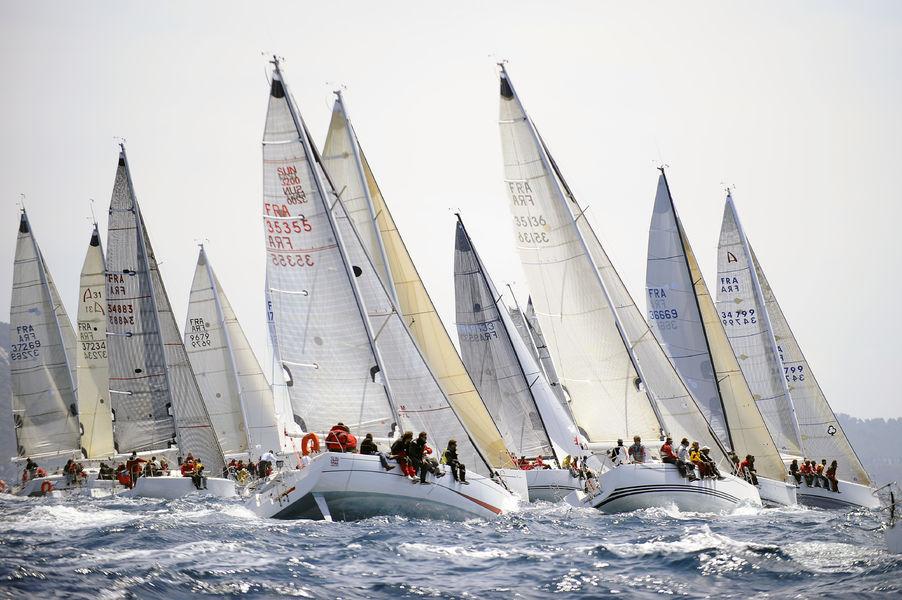 Porquerolle's race à Hyères - 1