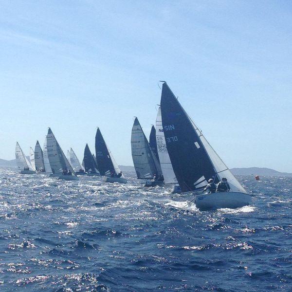 Championnat de Méditerranée des Laser n°1 à Hyères - 1