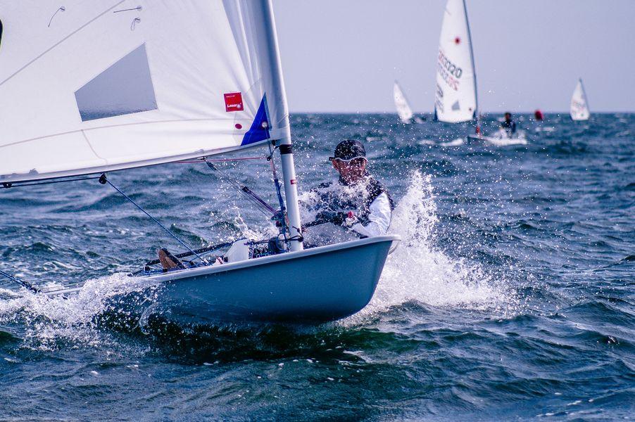 Championnat de Méditerranée des Laser n°1 à Hyères - 0
