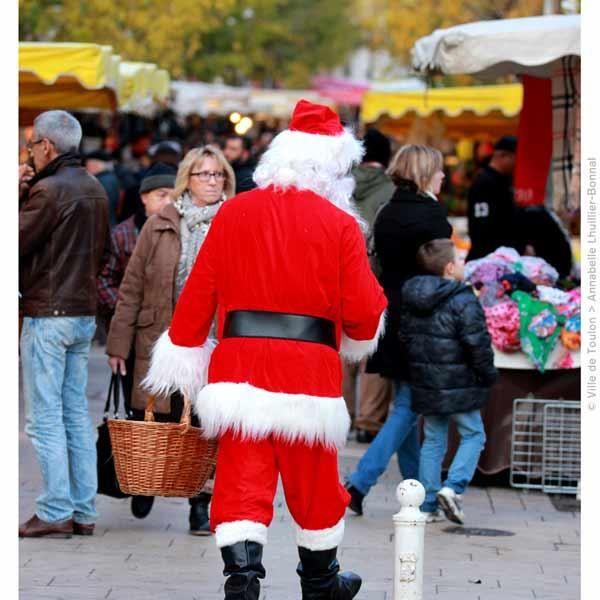 Arrivée du Père Noël et parade à Toulon - 0
