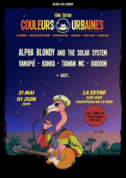 Festival Couleurs Urbaines à La Seyne-sur-Mer - 0