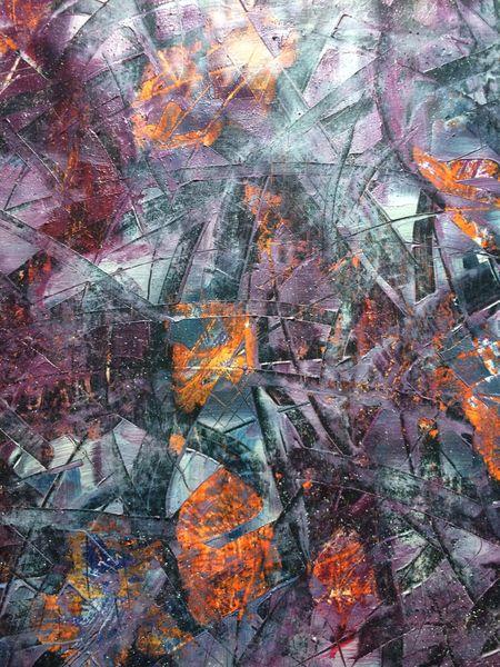 Exposition art abstrait, DAGOU à Hyères - 1