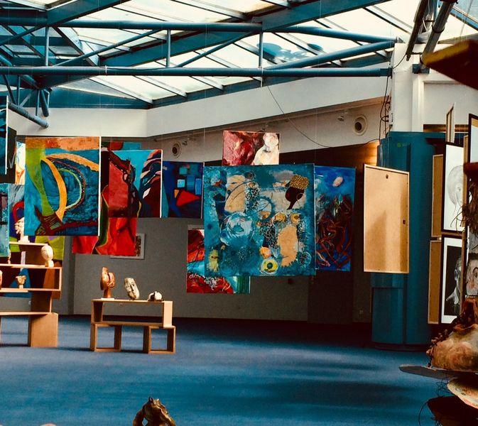 Exposition art abstrait, DAGOU à Hyères - 2