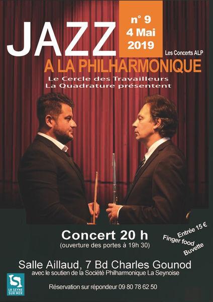 Jazz à la philharmonique avec le duo Dal Sasso / Ghio à La Seyne-sur-Mer - 0