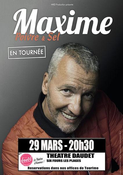 One man show «Poivre et sel» de Maxime à Six-Fours-les-Plages - 0