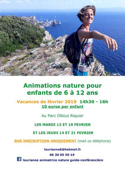 Animation nature enfants à Hyères - 2
