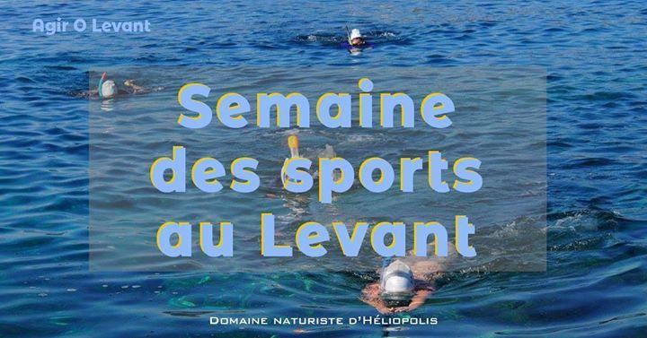 Sports o Levant à Hyères - 0