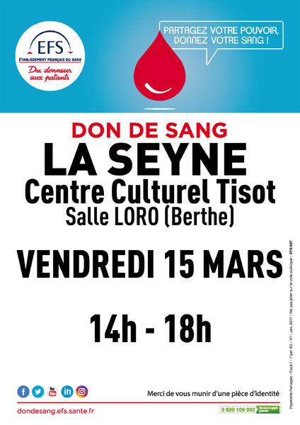 Don de sang à La Seyne-sur-Mer - 0