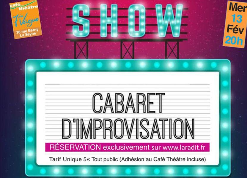 Cabaret d'improvisation La Radit à La Seyne-sur-Mer - 0
