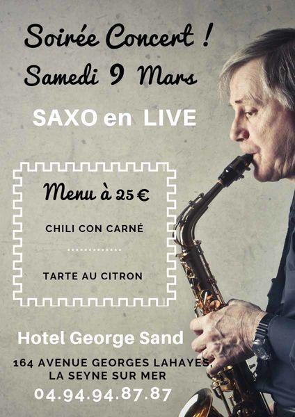 Soirée concert : saxo en live à La Seyne-sur-Mer - 0