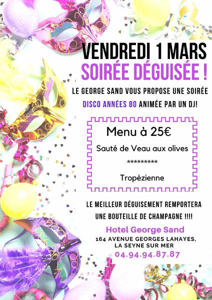 Soirée déguisée au George Sand à La Seyne-sur-Mer - 0